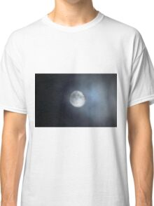 A misty October moon Classic T-Shirt