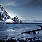 The Forth Rail Bridge Scotland by Aj Finan