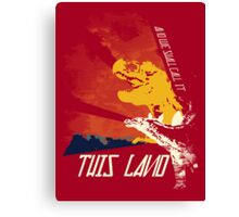 This Land (Before It All Went Wrong) Canvas Print