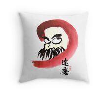 達磨 Daruma Throw Pillow
