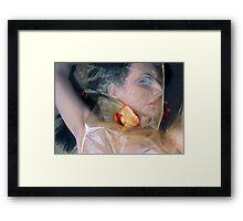 The Emotional Snag - Self Portrait Framed Print