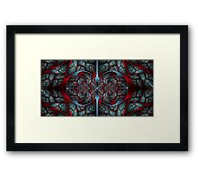 Red Revolver Framed Print