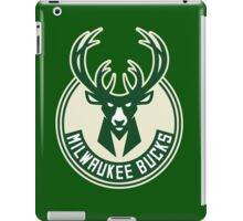 milwaukee bucks deer basketball iPad Case/Skin