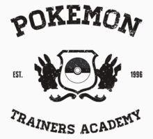 Pokemon Trainers Academy  Kids Tee