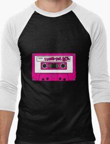 I love the 80's - pink tape Men's Baseball ¾ T-Shirt