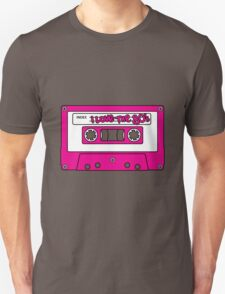 I love the 80's - pink tape Unisex T-Shirt