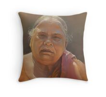 mother biswaal Throw Pillow