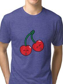 Cherry Twins Tri-blend T-Shirt