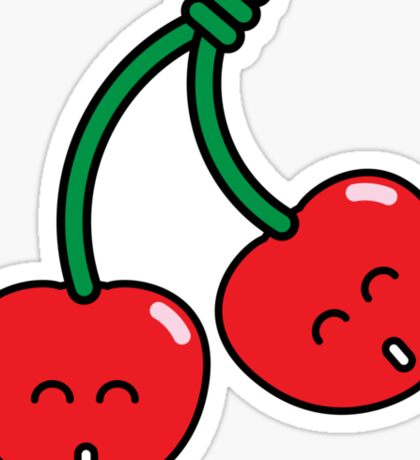 Cherry Twins Sticker