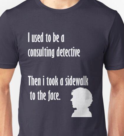 Sherlock,sidewalk to the face Unisex T-Shirt