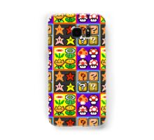 Mario Power-Up Evolution Samsung Galaxy Case/Skin