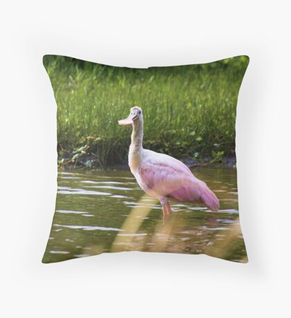 Just a Little Early Throw Pillow