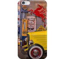 Hot Rod Garage 4 iPhone Case/Skin