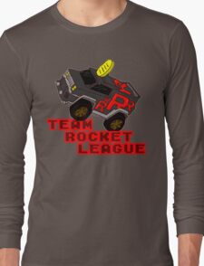 Team Rocket League - Meowth Long Sleeve T-Shirt