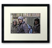 Survivors Framed Print