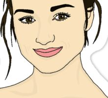 Crystal Reed Sticker