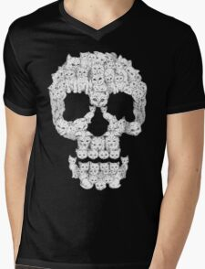 Skulls are for Pussies Mens V-Neck T-Shirt