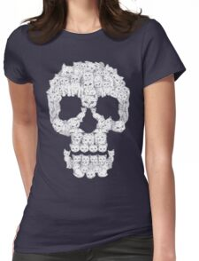Skulls are for Pussies Womens Fitted T-Shirt
