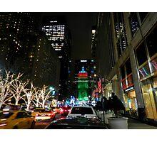 New York City - Park Ave. 001 Photographic Print