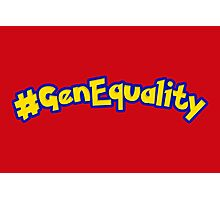 #GenEquality - Love Every Generation Photographic Print