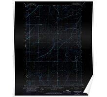 USGS Topo Map Washington State WA Winchester NE 244735 1966 24000 Inverted Poster