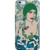 Pop arty tarot inspired collage - the moon iPhone Case/Skin