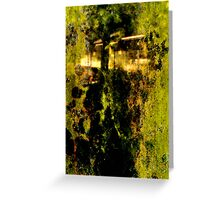 Dream in green Greeting Card