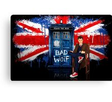 The King Of All Doctor Canvas Print