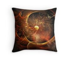 Born in the Vortex - The New Machine Throw Pillow