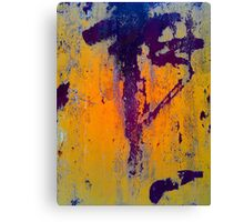 Chinese abstraction Canvas Print
