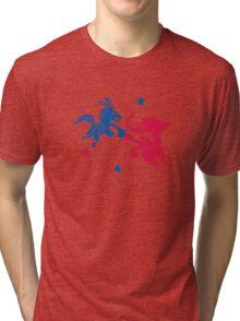 Political Fight t shirt Tri-blend T-Shirt