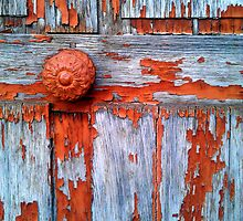 Wood door by Christophe Claudel
