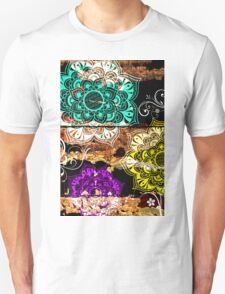 Mandala VII - Wood Unisex T-Shirt