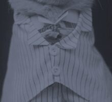 Classy Cat Sticker
