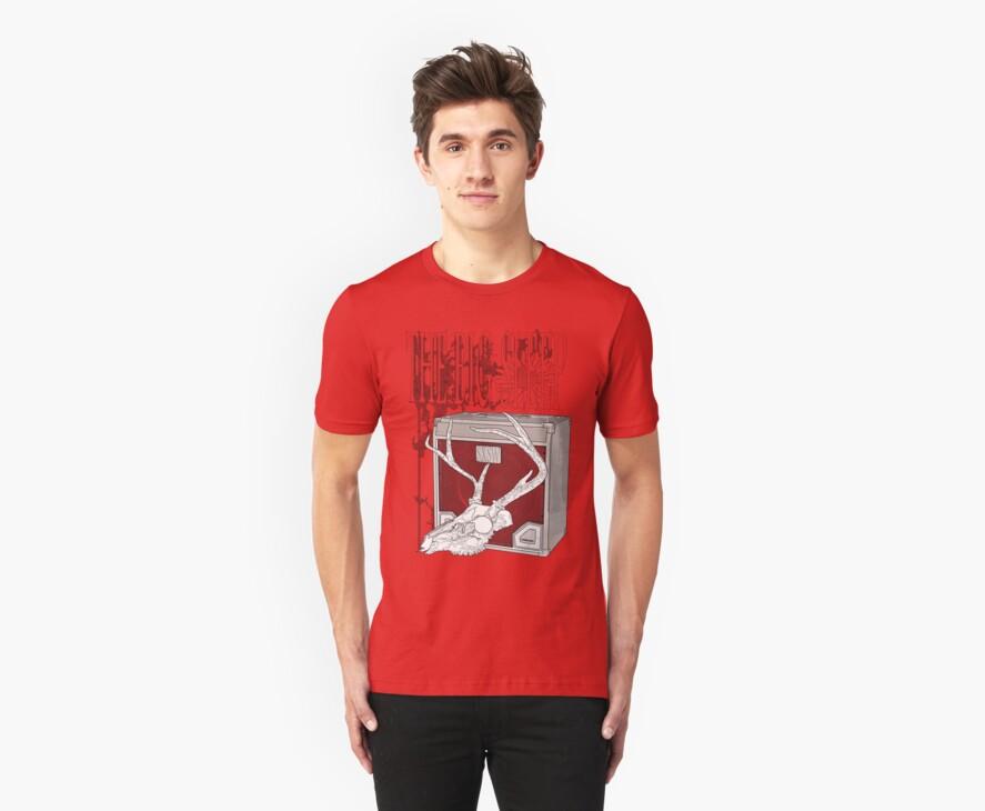 The Big Sleep SXSW T-Shirt Design by IanByfordArt