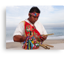 Flutes - Flautas Canvas Print