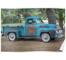 Vintage Ford Truck, Berrima, NSW Poster