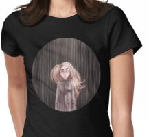 Awaiting For the Rain Womens Fitted T-Shirt