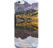 Maroon Lake iPhone Case/Skin