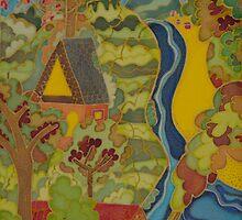 hidden homes  by FraghArtizart