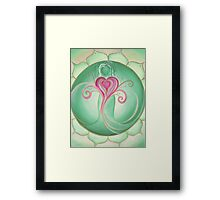 4th Chakra - Heart Chakra Framed Print