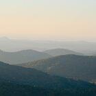 Sunrise over Blueridge - Mountain City Georgia  by KSKphotography
