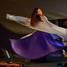 Purple Swirl by Walter Cahn