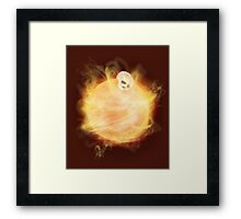 Lost in a Space / Sunlion Framed Print