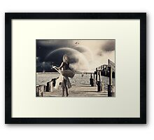 Dancing in the Moonlight.... Framed Print