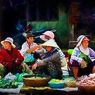 Hoi An Markets 3 by Stuart Row