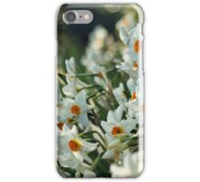 White daffodils iPhone case iPhone Case/Skin