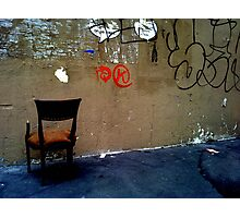 To the wall Photographic Print