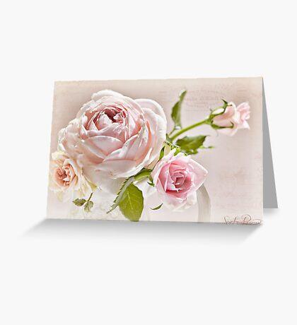 Romantic Recipe  Greeting Card