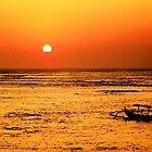 Bali Sunset, Kuta beach. by ThePigmi